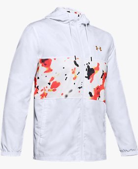 Men's UA Sportstyle Wind Upstream Camo Jacket