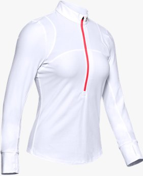 Women's UA Qualifier Run Upstream Camo ½ Zip