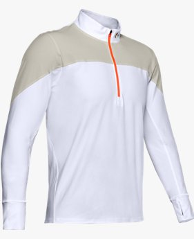 Men's UA Qualifier Run Upstream Camo ½ Zip