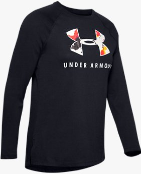 Women's UA Upstream Camo Graphic Long Sleeve