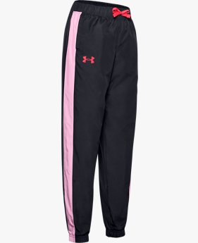 Girls' UA Lined Woven Trousers