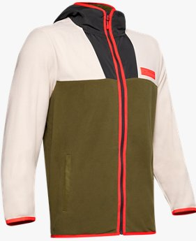 Herenshirt UA Street To Summit Polar Fleece met lange rits
