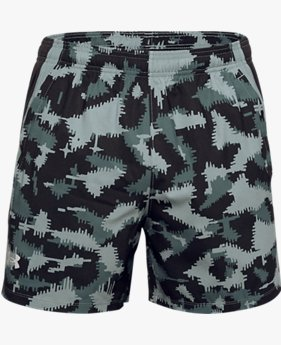 Men's UA Launch SW 5'' Camo Shorts