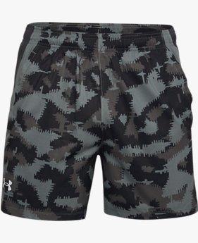 Men's UA Launch SW 5'' Camo Shorts