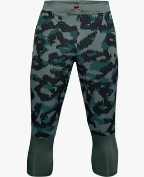 Men's UA Run Anywhere Printed ¾ Trousers