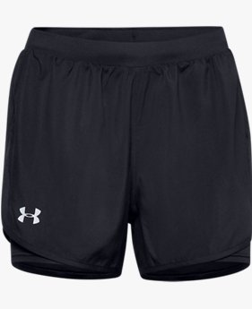Short UA Fly By 2.0 2-in-1 pour femme