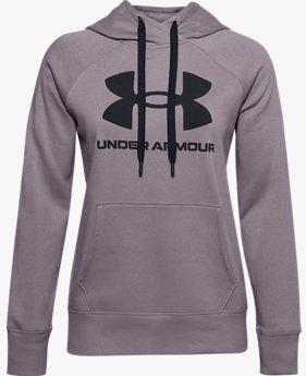 Women's UA Rival Fleece Logo Hoodie