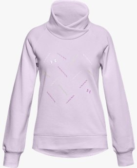 Girls' UA Rival Fleece Wrap Neck