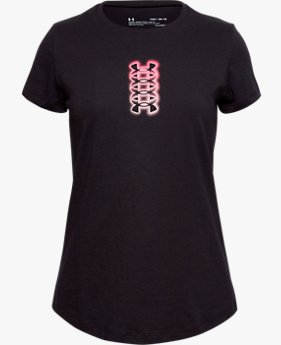 Girls' UA Verbiage Short Sleeve