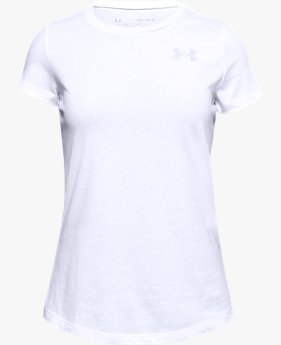 Girls' UA Short Sleeve Crew