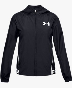 Girls' UA Play Up Woven Jacket
