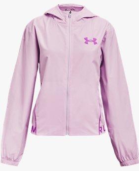 Girls' UA Play Up Woven Jacket