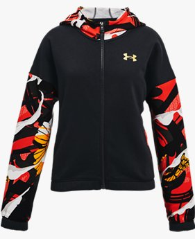Girls' UA Rival Fleece CNY Jacket