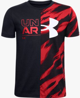 Boys' UA Graphic Short Sleeve