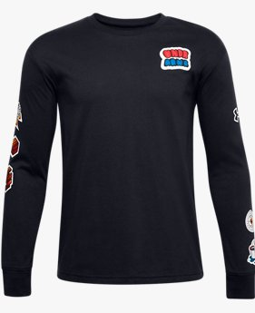 Boys' UA Graphic Long Sleeve