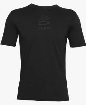 Unisex Curry Logo Short Sleeve