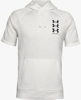 Men's UA Rival Fleece Multilogo Short Sleeve Hoodie