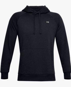 Sudadera con capucha de tejido Fleece UA Rival para hombre