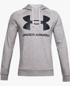 Men's UA Rival Fleece Big Logo Hoodie