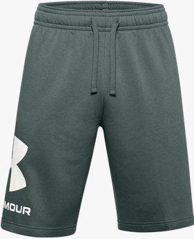 Short UA Rival Fleece Big Logo pour homme