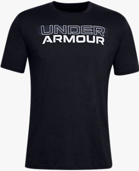 Men's UA Blurry Logo Wordmark Short Sleeve