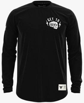 Men's Project Rock Get To Work Long Sleeve