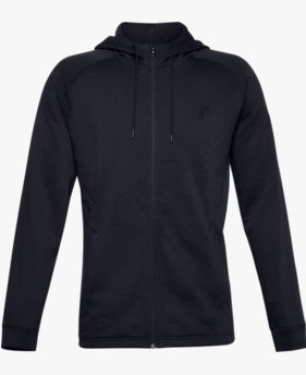Men's Project Rock Charged Cotton® Fleece Full Zip