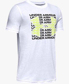 UAスポーツスタイル ハートビート ワードマーク ショートスリーブ(トレーニング/BOYS)
