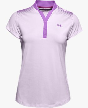 Women's UA Zinger Graphic Short-Sleeve Polo