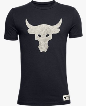 Boys' Project Rock Brahma Bull Short Sleeve