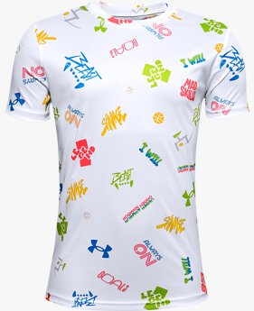 Boys' UA Tech™ Verbiage Short Sleeve
