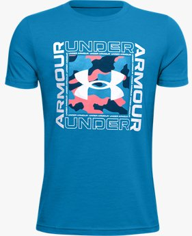 Boys' UA Rival Inspired Short Sleeve