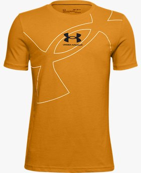 Boys' UA Exploded Symbol T-Shirt