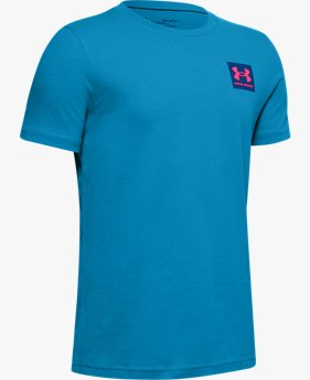 Boys' UA Multi Verbiage Short Sleeve