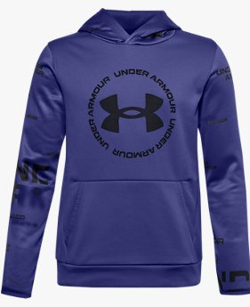 Boys' Armour Fleece® Branded Hoodie