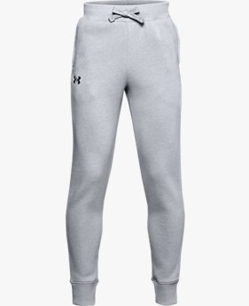 Boys' UA Rival Cotton Trousers