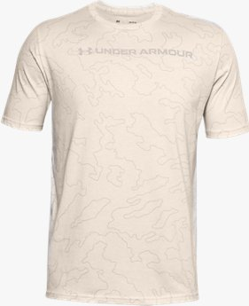 Men's UA All-Over Wordmark Short Sleeve