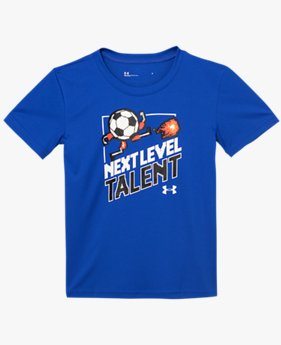 Boys' Pre-School UA Next Level Talent Short Sleeve