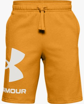 Boys' UA Rival Fleece Big Logo Shorts