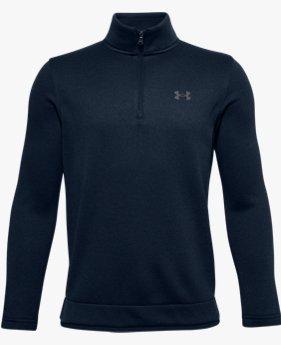 Jongensshirt UA SweaterFleece met korte rits