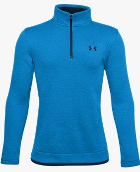 Boys' UA SweaterFleece ½ Zip