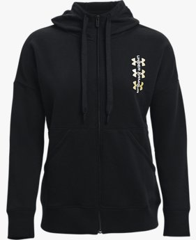 Women's UA Rival Fleece Multilogo Full Zip Hoodie
