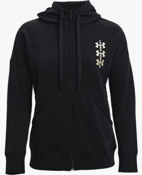 Women's UA Rival Fleece Multilogo Full Zip Hoodie