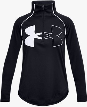 Girls' UA Tech™ Graphic Logo ½ Zip