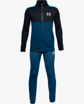 Boys' UA CB Knit Track Suit