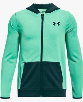 Boys' Armour Fleece® Textured Full Zip