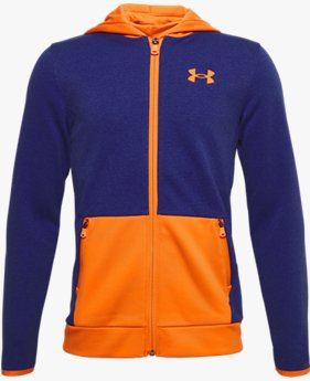 Boys' Armour Fleece® Textured Full Zip