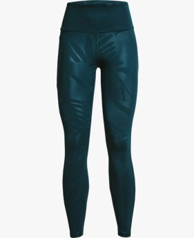 Women's UA RUSH™ No-Slip Waistband Tonal Full-Length Leggings