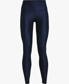 Women's HeatGear® Armour No-Slip Waistband Branded Full-Length Leggings