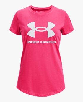 女童UA Sportstyle Graphic短袖T恤